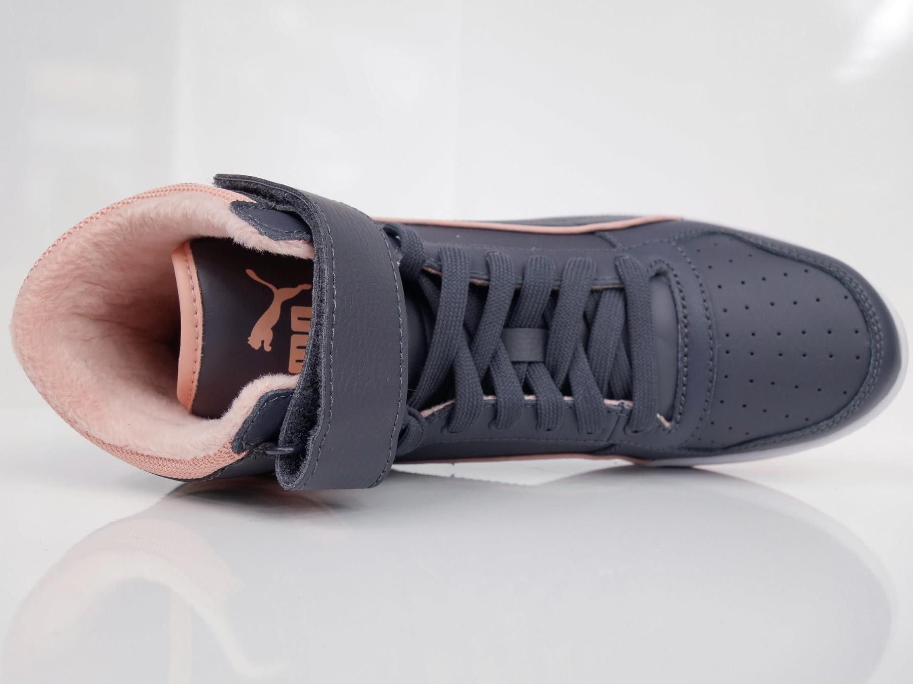 Puma Shoes Juniors Girls Liza Mid Fur