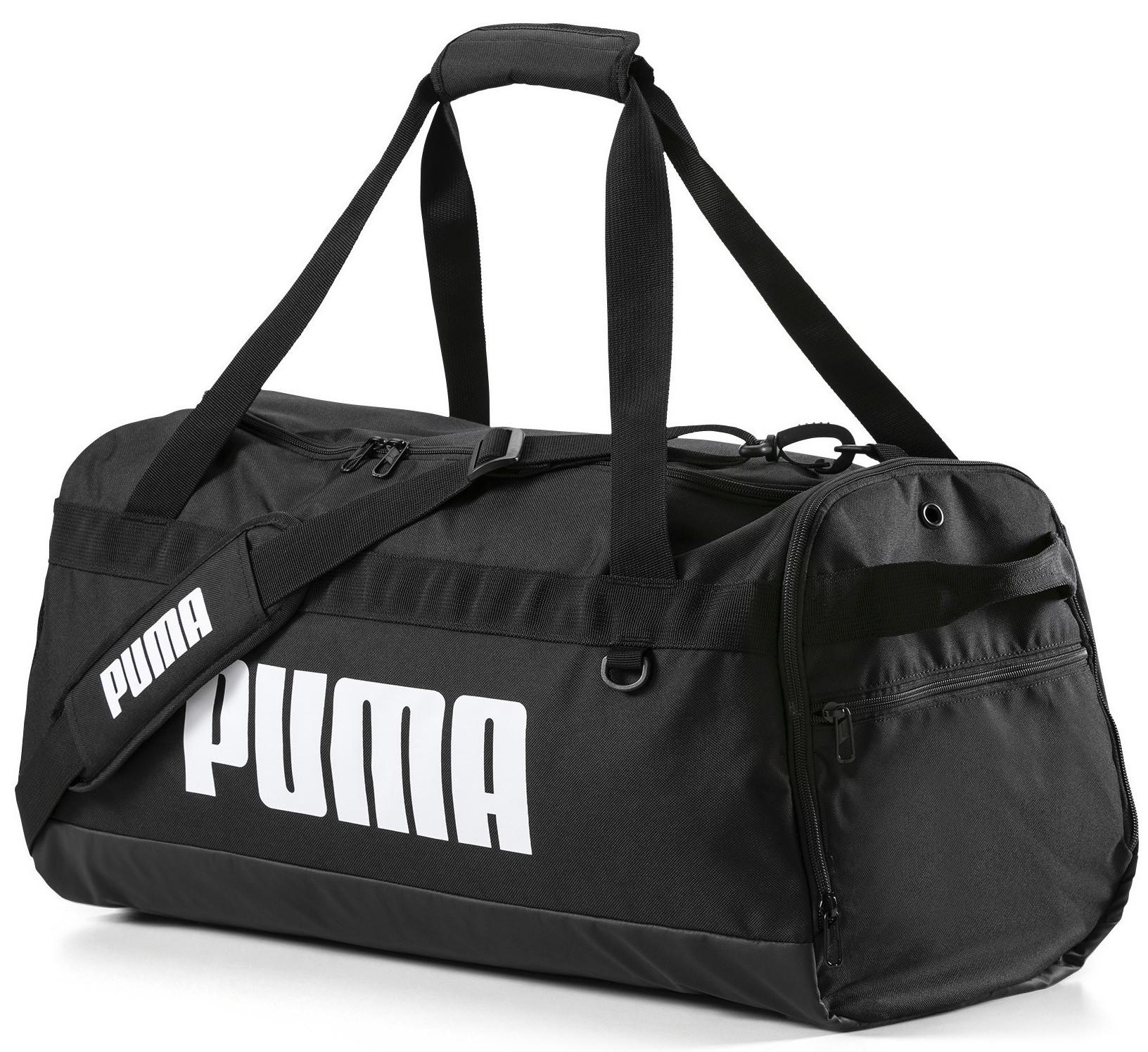 f4dcd8a537f6a Puma Challenger Duffel Bag Black | Sportsman24